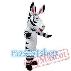Zebra Marty Mascot Costume Cartoon Dess