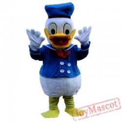 Donald Duck Cartoon Costume Mascot Costume