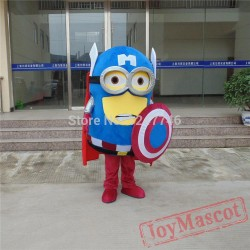 Captain America Adult Minion Costume