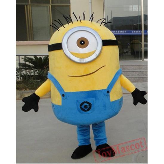 Mascot Costume Minion Mascot Cartoon Costume