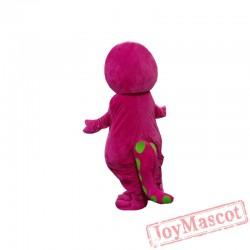 Adult Barney Cartoon Mascot Costumes