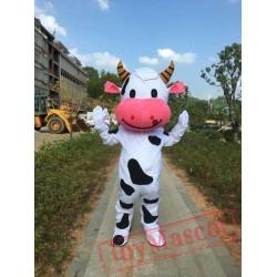 Cow Mascot Costume Performances Cow Mascot Costume