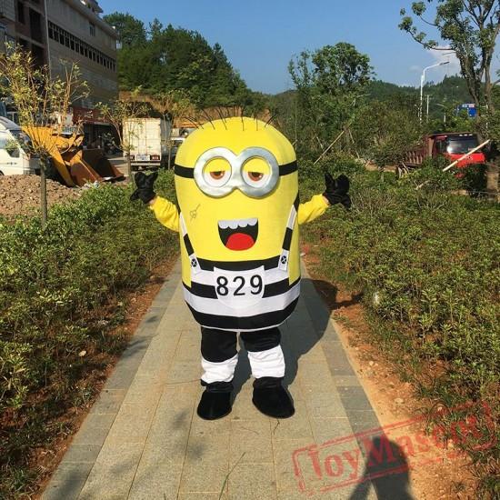 Cartoon Despicable Minions Mascot Costume