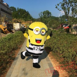 Cartoon Despicable Minions Mascot Costume