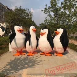 The Penguins Of Madagascar Penguin Mascot Costume Cosplay