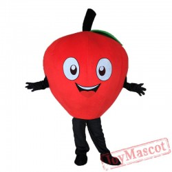 Little Read Apple Mascot Costume Carnival Costume