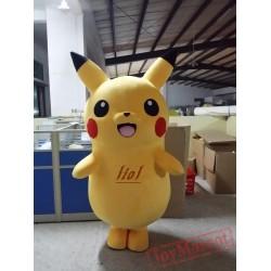 Pokemon Pikachu Mascot Costume