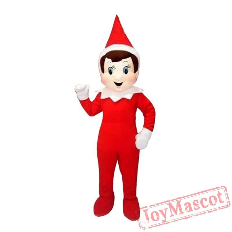 Halloween Creepy Elf Pinocchio On The Shelf Mascot Costumes