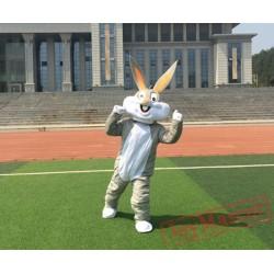 Cartoon Bugs Bunny Rabbit Mascot Costume