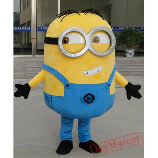 Mascot Costumes Minion Mascot Costume