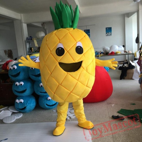 Adult Fruit Pineapple Mascot Costumes For