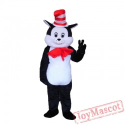 Seuss The Cat In The Hat Mascot Costumes Halloween