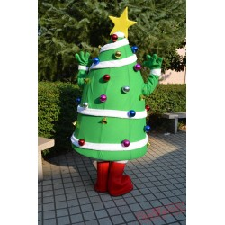 Christmas Mascot Costumes Star Decoration Christmas Tree Costumes