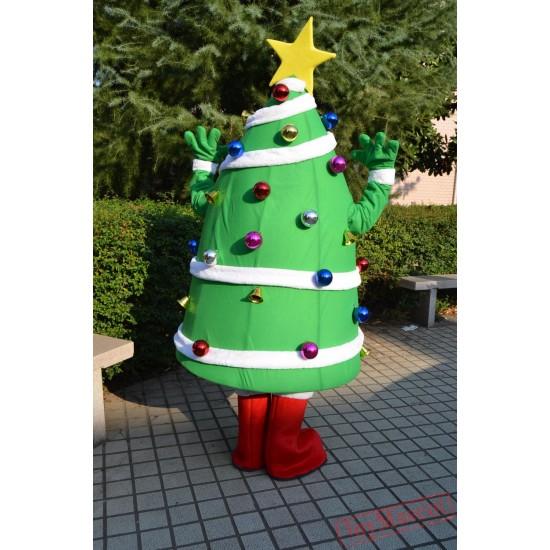 Christmas Mascot Costumes Star Decoration Christmas Tree Costumes