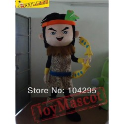 Indian Huntsman Cartton Mascot Costume