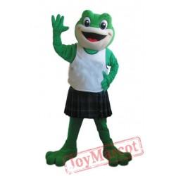 Sport Frog Cartoon Mascot Costumes