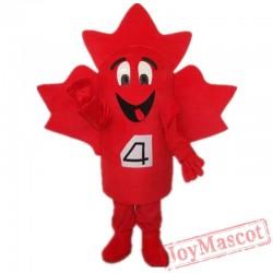 Red Monster Cartoon Mascot Costumes Halloween School Team Sport