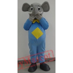 Blue Elephant Mascot Costumes Halloween Easter
