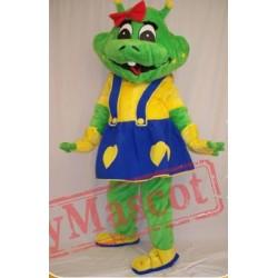 Cute Dinosaur Cartoon Mascot Costumes Halloween School Team Sport