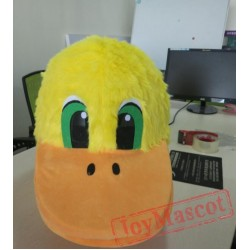 Yellow Duck Bird Mascot Costumes For Adult