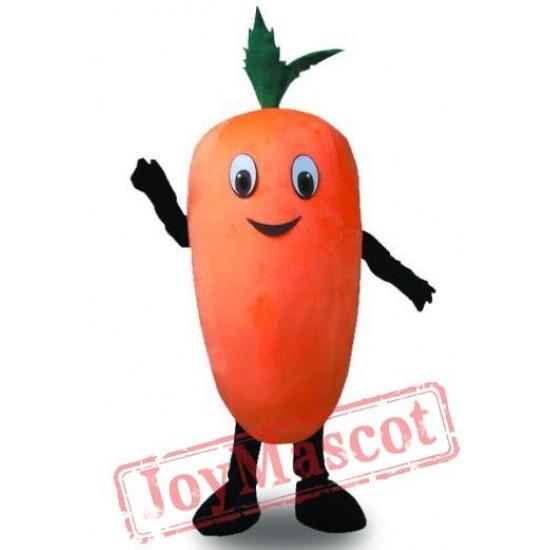 Carrot Mascot Costume Halloween