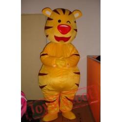 Africa Tiger Cartoon Mascot Costumes Gift Sport Football Customes