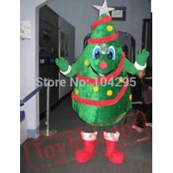 Funny Santa Claus Tree Mascot Costumes