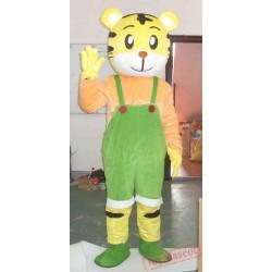 Wear Clothing Tiger Cartoon Mascot Costumes Gift Sport Football Customes