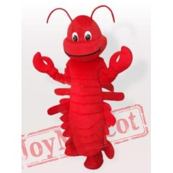 Red Lobster Cartoon Mascot Costumes Halloween
