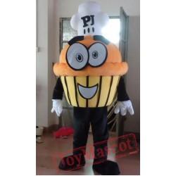 Food Cake Cartoon Mascot Costumes Halloween