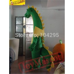 Fantasy Green Dragon Mascot Costumes Adults Christmas