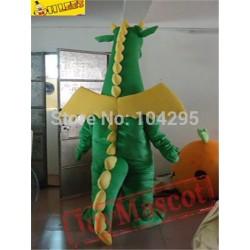 Fantasy Green Dragon Mascot Costumes Adults Christmas