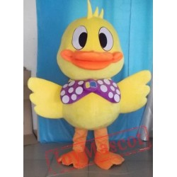 Yellow Duck Mascot Costumes School Team Sport