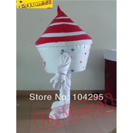 Ice Cream Mascot Costume