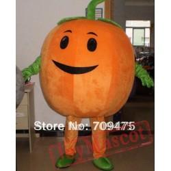 Big Fat Pumpkin Head Cosplay Mascot Costume For Adult Cartoon Animal