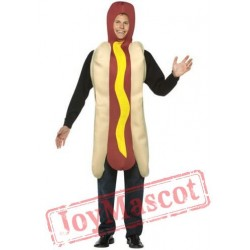 Hot Dog Mascot Costumes School Team Sport