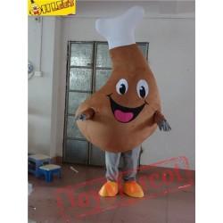 Drumstick Cartton Mascot Costumet