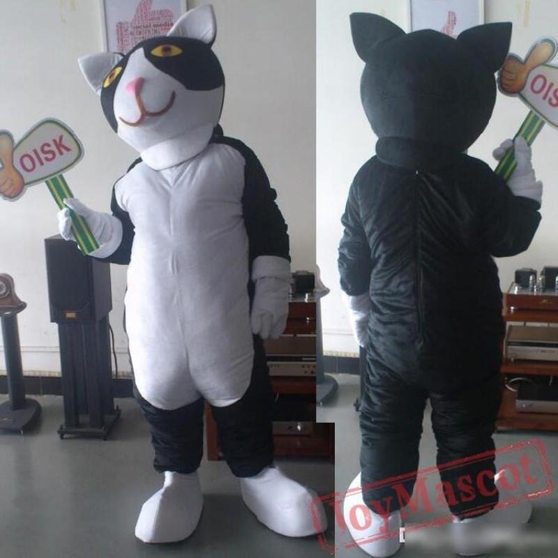 & Cat Mascot Costume Halloween Head Costumes School Head