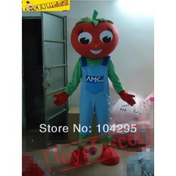 Red Tomato Mascot Costume For Halloween