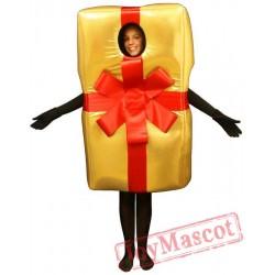 Christmas Gift Walking Mascot Costumes Adults Christmas Cosplay