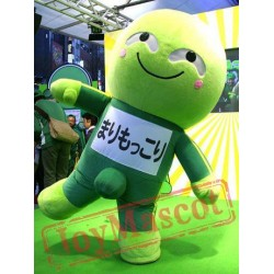 Green Men Japanese Mascot Costume
