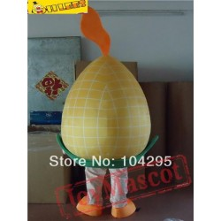 Yellow Corn Cartton Mascot Costumetfit