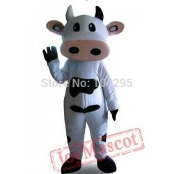 Deluxe Dairy Cattle Toro Bull Cow Mascot Costume