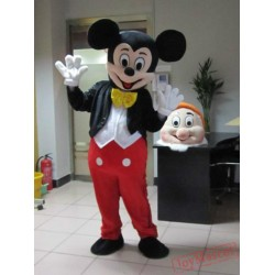 Mickey Cartoon Mascot Costume Halloween Carnival Costumes