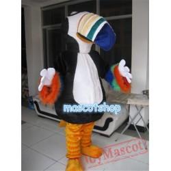 Rhinoceros Toucan Macaw Mascot Costume Mascot Cartoon Costume