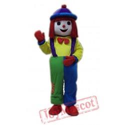 Clown Mascot Costume Facny