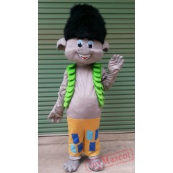 Trolls Mascot Costume Poppy Branch Parade Clowns Costume