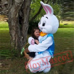 Easter Bunny Rabbit Mascot Costume Cartoon Adult Game