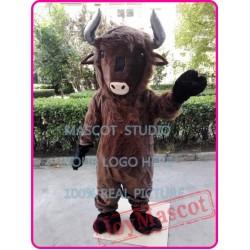 Highland Bull Mascot Costume Basion