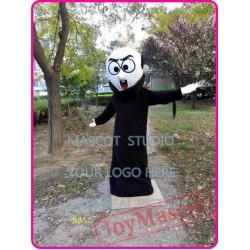 Black Devil Monster Mascot Costume
